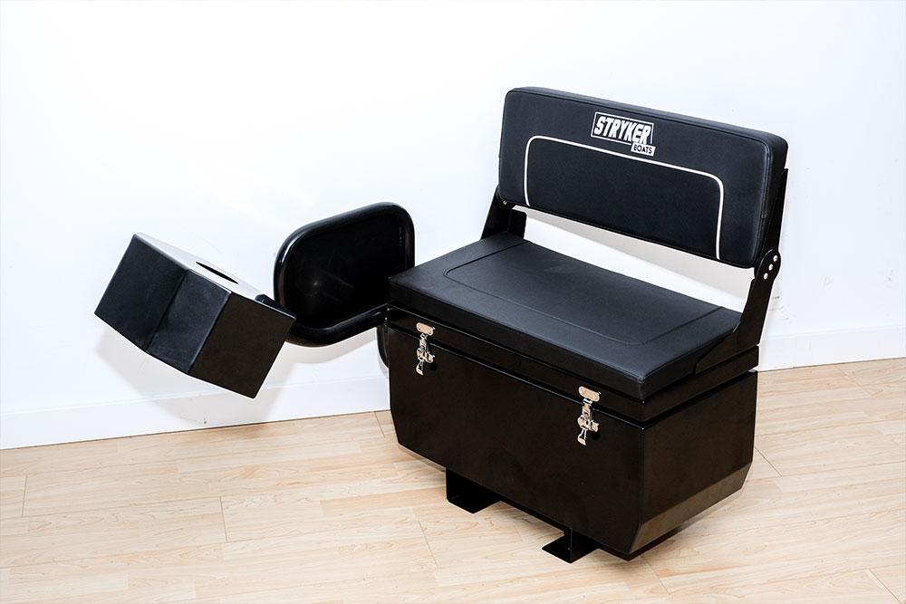 Stryker Bench with Foldable Backrest (Storage Inside)