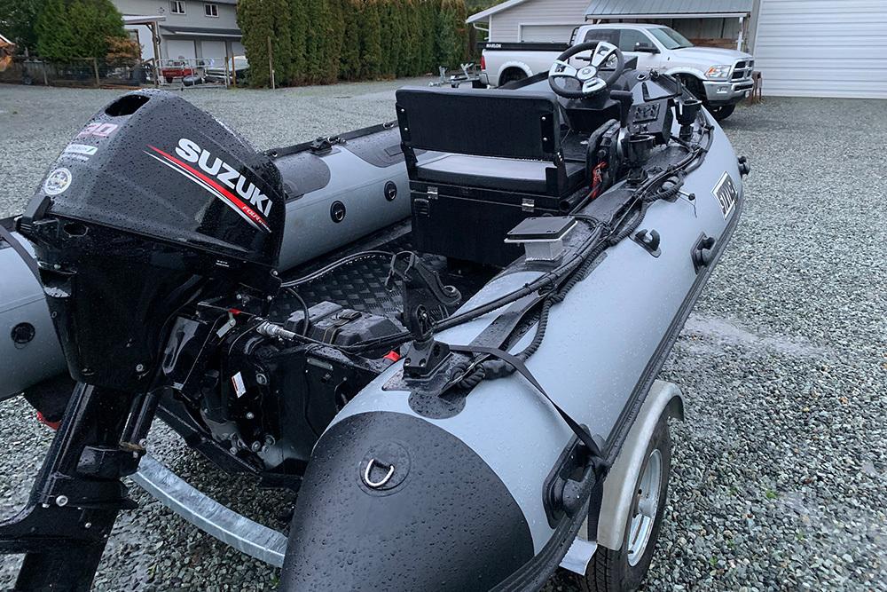 Stryker RIB 420 (13'7″) Rigid Hull Inflatable Boat